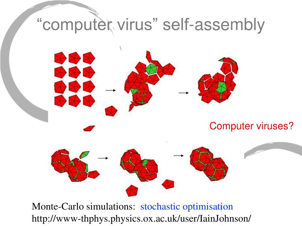 """computer virus"" self-assembly"