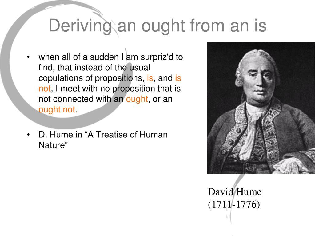 Deriving an ought from an is