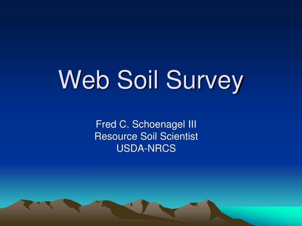 web soil survey l.