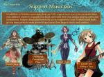 support musicians