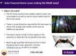 solar powered home loans making t he math easy4