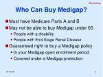 who can buy medigap