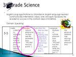 3 rd grade science