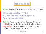 rank select