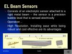 el beam sensors
