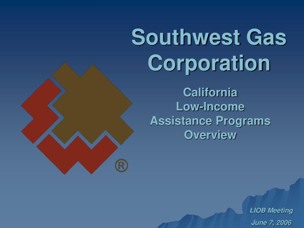 southwest gas corporation l.