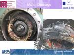 motor damage