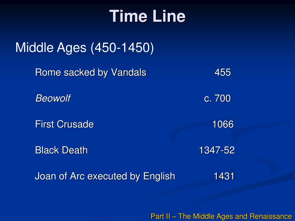time line l.