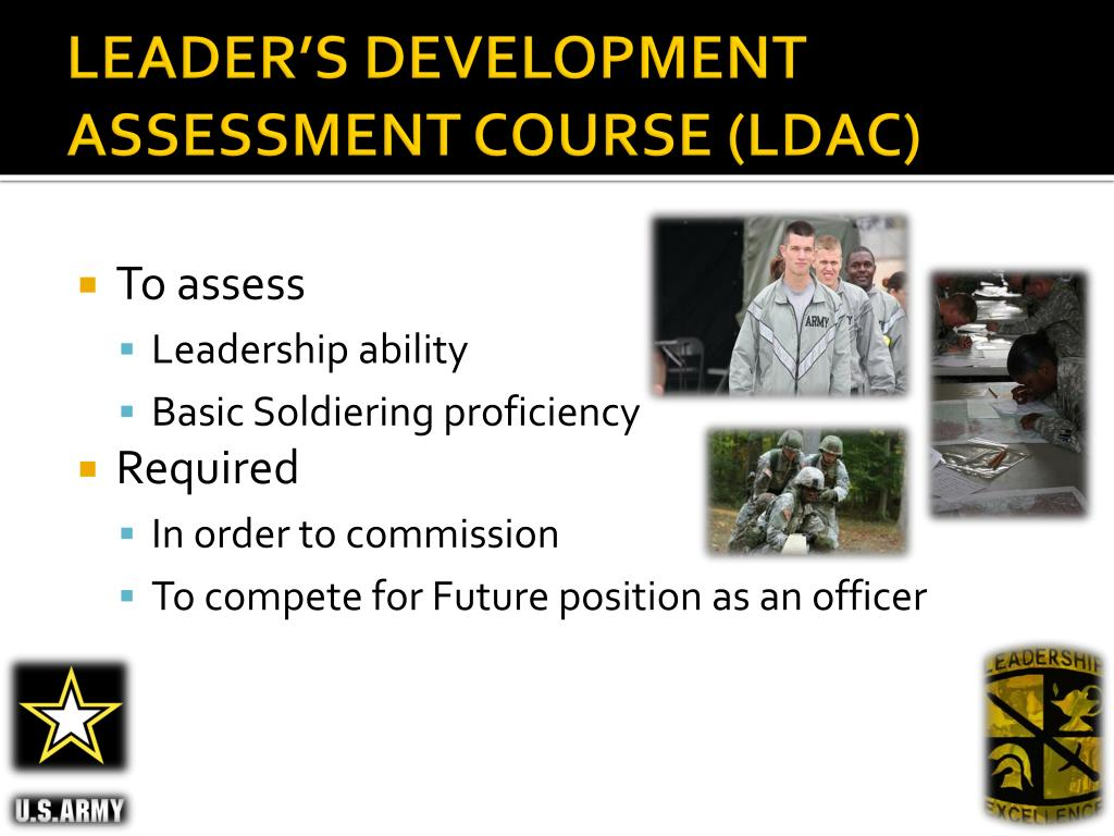 LEADER'S DEVELOPMENT  ASSESSMENT COURSE (LDAC)
