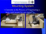 mounting system5