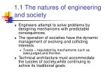 1 1 the natures of engineering and society