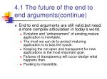 4 1 the future of the end to end arguments continue