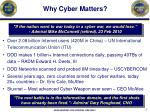 why cyber matters