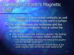 dip angle of earth s magnetic field