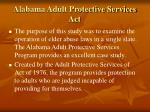 alabama adult protective services act