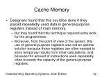 cache memory92