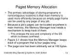 paged memory allocation10