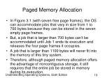 paged memory allocation13
