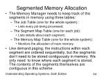 segmented memory allocation64