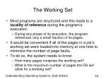 the working set54