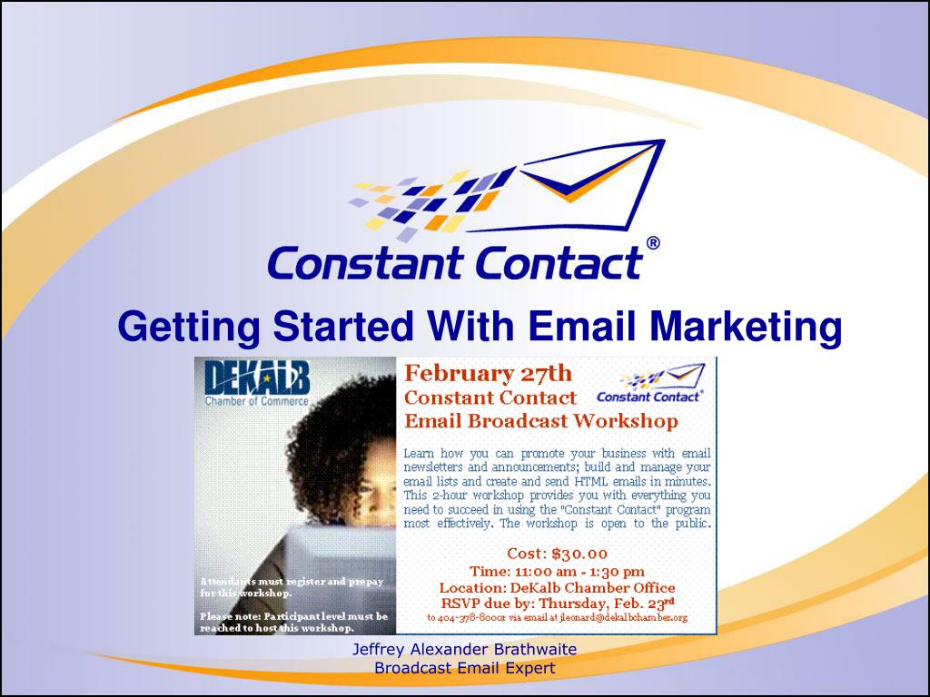 getting started with email marketing l.