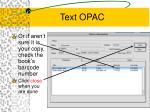 text opac44