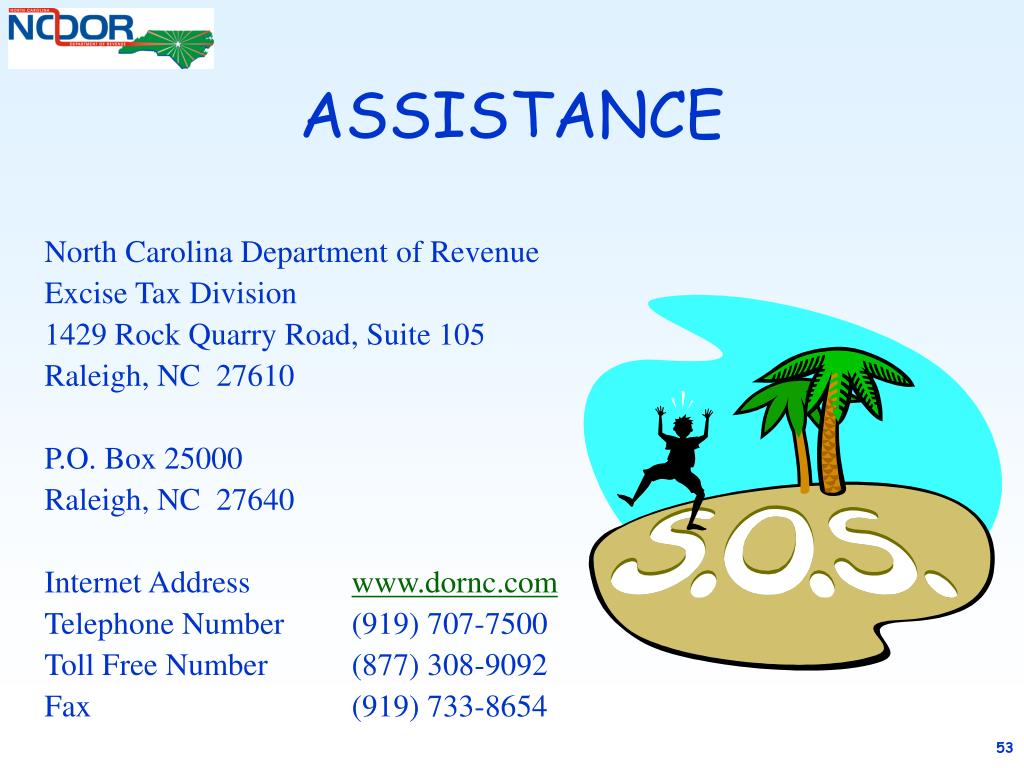 North Carolina Department of Revenue