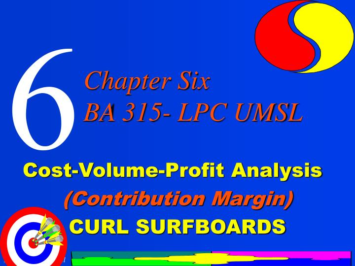 cost volume profit analysis contribution margin curl surfboards n.