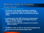 marcellus shale air sampling project goals