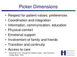 picker dimensions