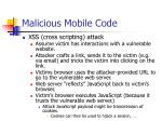 malicious mobile code103