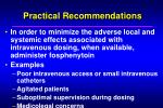 practical recommendations18