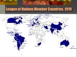 league of nations member countries 1919