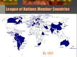 league of nations member countries