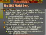 the oecd model cont
