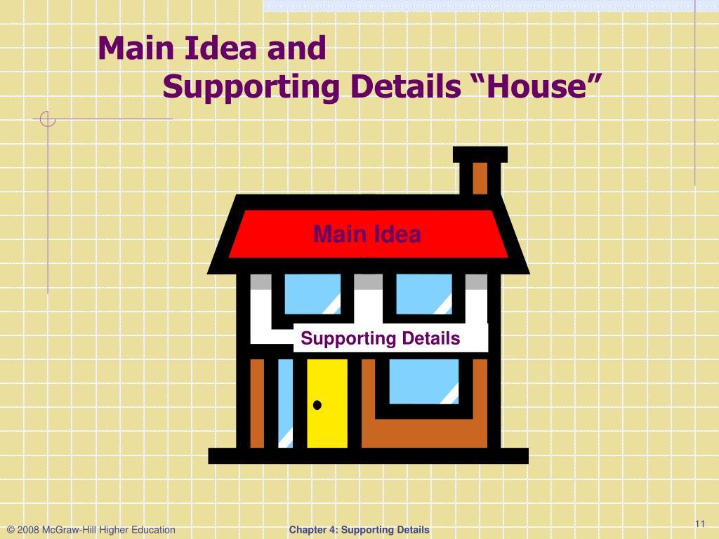 Main Idea and