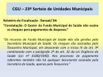 cgu 23 sorteio de unidades municipais73