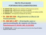 pacto pela saude portarias regulamentadoras34