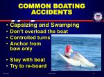 common boating accidents21