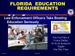 florida education requirements15