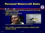 personal watercraft stats