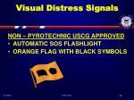 visual distress signals40