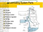 lubricating system parts