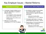 key employer issues market reforms