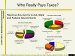 who really pays taxes