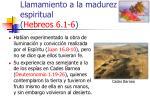 llamamiento a la madurez espiritual hebreos 6 1 637
