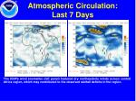 atmospheric circulation last 7 days