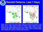 rainfall patterns last 7 days
