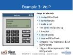 example 3 voip
