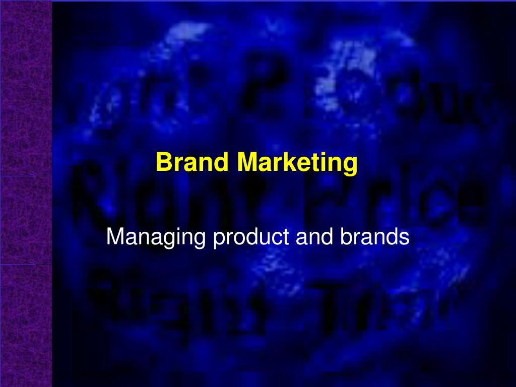 brand marketing l.